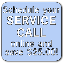 schedule your service call online and save