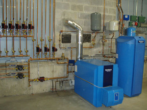 Buderus Heating/Domestic Hot Water System Complete Primary Heat Loop and Secondary Heat Zones