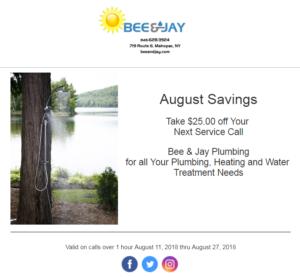 August Savings`