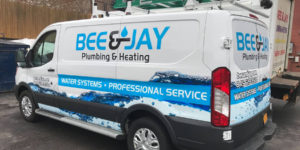 Bee and Jay's Service Van