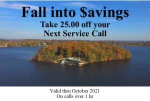 Fall into Savings 2021