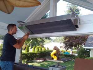 Installing Outdoor Heater