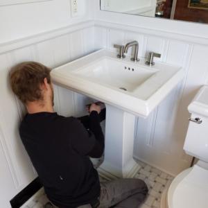Pedestal Sink Repair