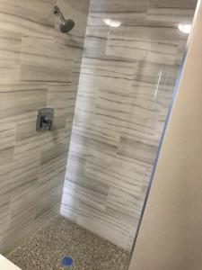 Finished hall bath